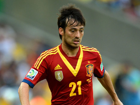David Silva: 'Past our best? Spain are getting better' - The Independent | World Cup | Scoop.it