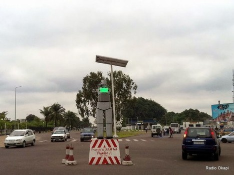 African City Replaces Traffic Lights with Intimidating Robots | Strange days indeed... | Scoop.it