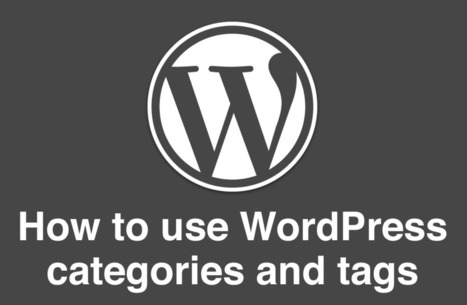WordPress Tags And Categories – The Ultimate Guide For Nonprofits | Nonprofits & Social Media | Scoop.it