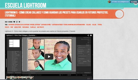 Lightroom 5 - Cómo crear collages y como guardar los presets para usarlos en futuros proyectos. (Tutorial) | Lightroom | Scoop.it