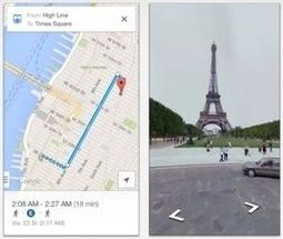 Le nouveau Google Maps est disponible pour iPhone et iPad | LaLIST Veille Inist-CNRS | Scoop.it