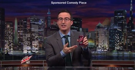 John Oliver on Native Advertising: It's Gross, But This Is Our Fault   B2B Marketing, Strategy & Business   Scoop.it