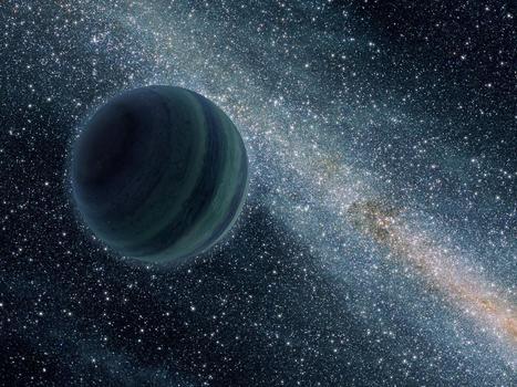 Des millions de milliards de planètes nomades erreraient dans la Voie lactée. | Astro | Scoop.it