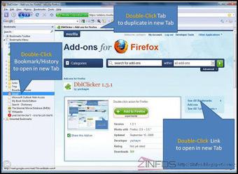 Firefox-ouvrir les liens-favoris automatiquement dans un nouvel onglet | INFORMATIQUE 2015 | Scoop.it