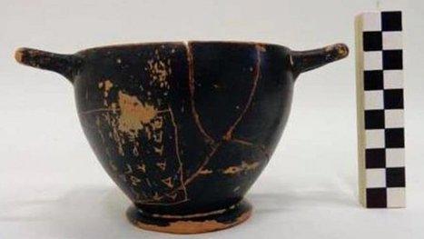 Descubren en Grecia una copa de vino usada por Pericles | Mundo Clásico | Scoop.it