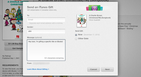 Mac and iOS users can now gift iBooks - Engadget | iBooks Author | Scoop.it