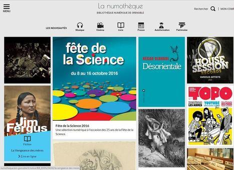 [REVUE DE PRESSE] LA NUMOTHEQUE, LA NOUVELLE BIBLIOTHEQUE NUMERIQUE DE GRENOBLE : | Clic France | Scoop.it