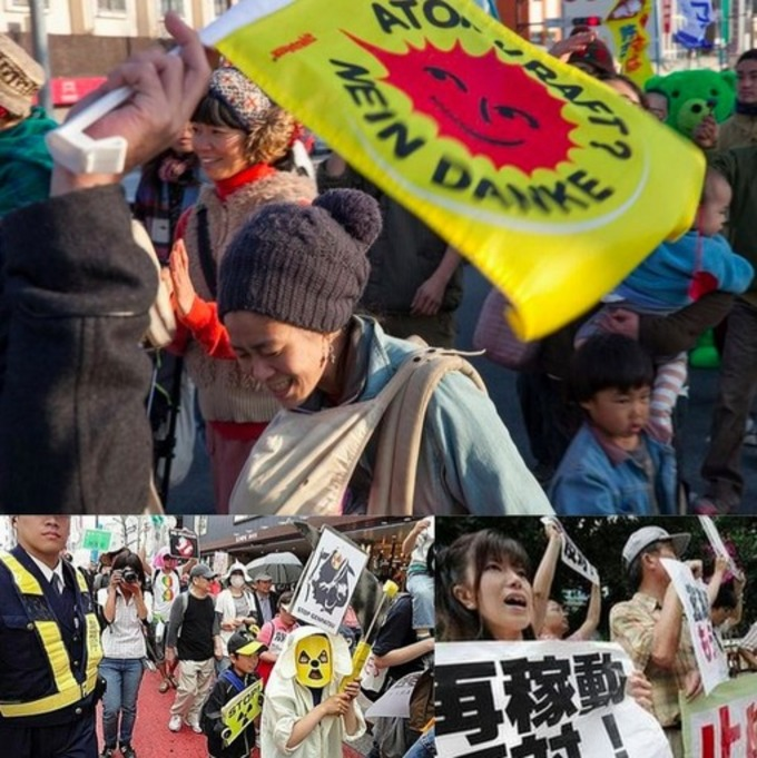 "Japan's ""Occupy Nuclear Power"" Movement Celebrates 1000th Day ... 