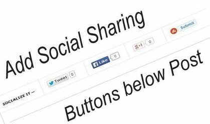How we can Add Floating Social Sharing Bar with Step wise in the Blogger | Superioreducationz.com | Scoop.it