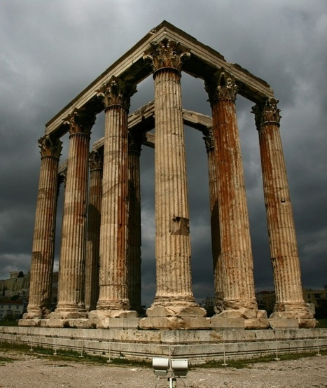 Temple of Olympian Zeus - Athens, Greece   Incredible Pictures   Loveable Architecture   Scoop.it