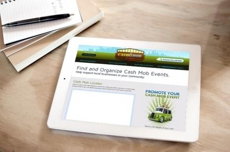 [Idée de Business] Le Cashmob vole au secours des commerçants ... - Maddyness | E-commerce & Small Shops | Scoop.it