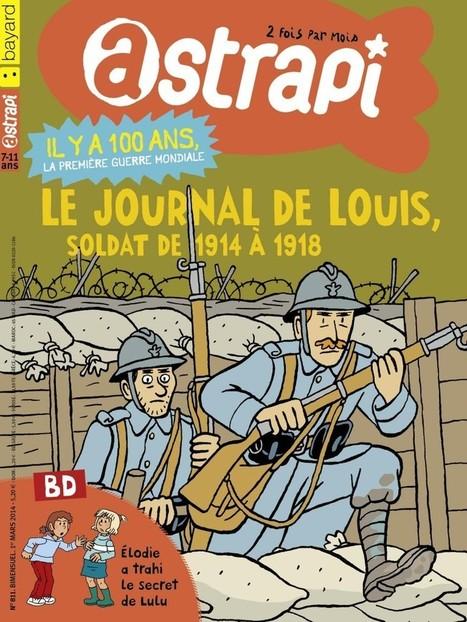 La Grande Guerre racontée aux enfants de 1920 et de 2014 | Auprès de nos Racines - Généalogie | Scoop.it