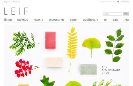 30 Beautiful and Creative Ecommerce Website Designs – Shopify | e-Commerce and User Experience (UX) | Scoop.it
