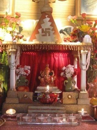 Ganpati Decoration Ideas at Home   Latest Handi