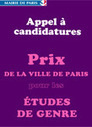 Prix de la Ville de Paris pour les Etudes de Genre - Paris.fr   Génération en action   Scoop.it