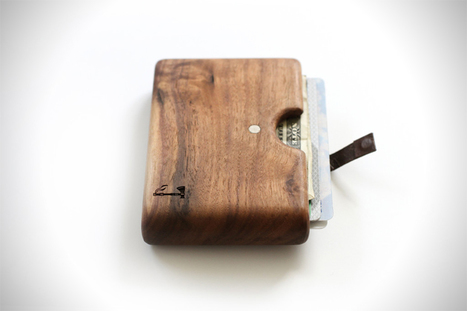 Hand Crafted Wood Wallets by Slim Timber | Digital-News on Scoop.it today | Scoop.it