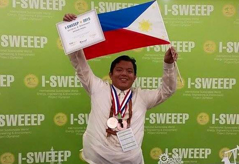 "Pinoy Teen's Coconut Plastic Bag Invention Wins In World Competition (""we need to enhance coconuts too"") 