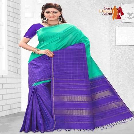 The very stylish & elegant kanchipuram silk sarees online in u... | Sari Dhoti and Designer Shawl for Women | Scoop.it