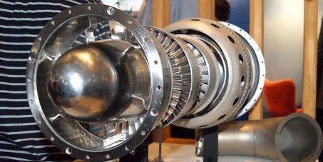 Deux réacteurs d'avion reproduits par impression 3D | Ateliers Jisseo | Scoop.it