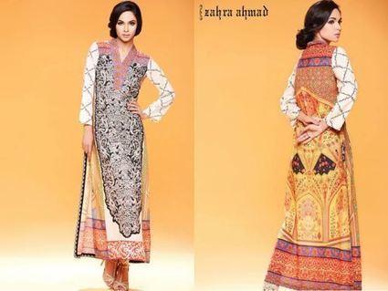 Zahra Ahmad Fancy Style Casual Dresses 2014   Casual Dresses   ..:::-StyloStyle.co.uk-:::..   Stylostyle.co.uk   Scoop.it