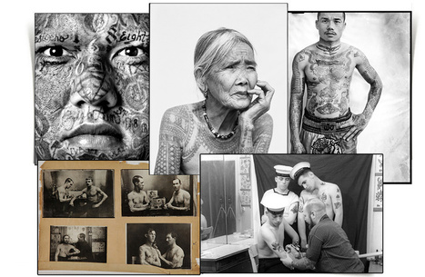 """L'exposition """"Tatoueurs, tatoués"""" au musée du quai Branly   Vogue   Outsider & Raw Art   Scoop.it"""
