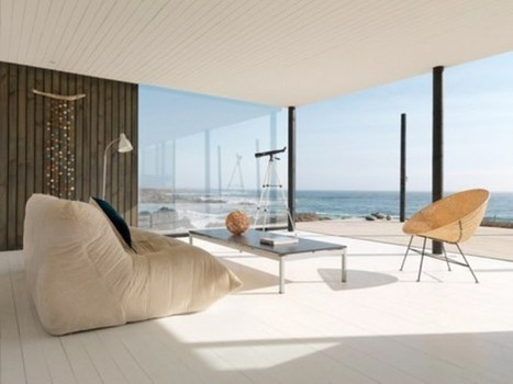Ultra Minimalist Beach Retreat In Chile   Design   News, E-learning, Architecture of the future at news.arcilook.com   Architecture news   Scoop.it