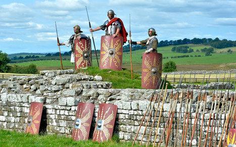 English Heritage's ''Hadrian's Wall Live'' hosts legionaries at Birdoswald fort   My Scotland   Scoop.it