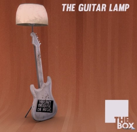 Guitar Lamp Gift by THE BOX | Teleport Hub - Second Life Freebies | Second Life Freebies | Scoop.it