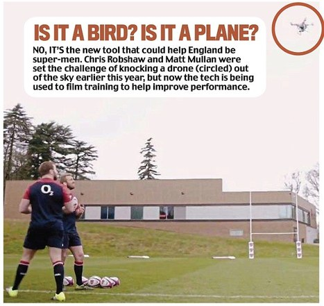 England's use of drones sends out a strong message to the rugby world | Nova Scotia Sports | Scoop.it