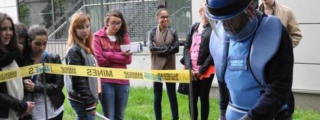 Handicap International sensibilise les lycéens luxembourgeois au déminage humanitaire | Infogreen | InfoGreen.lu | Scoop.it