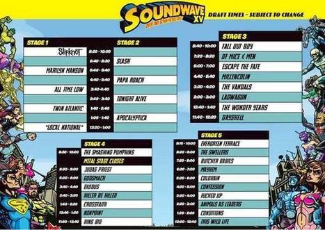 Soundwave Update - January | Music-journalism | Scoop.it