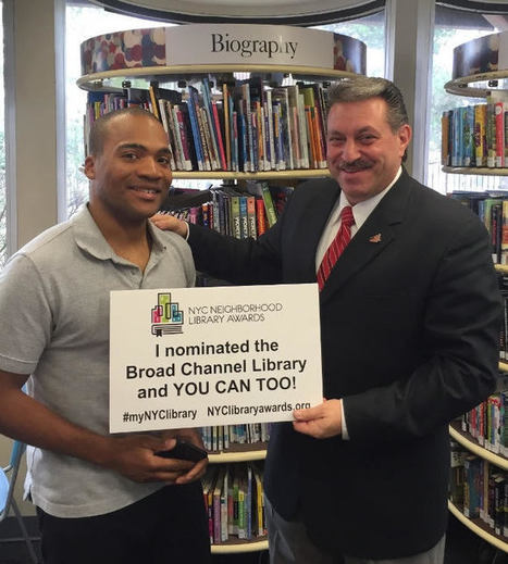 Voting Now Open for NYC Neighborhood Library Awards; Top branches receive $20,000 prize   The Forum Newsgroup   Libraries in Demand   Scoop.it