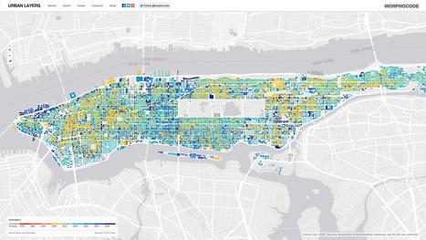 Urban Layers. Explore the structure of Manhattan's urban fabric. | MORPHOCODE | nature tech | Scoop.it