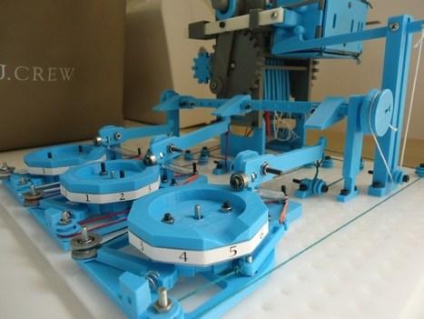 The Turbo Entabulator: A 3D-Printed Mechanical Computer | Tu Imagines ? Construis ! | Scoop.it