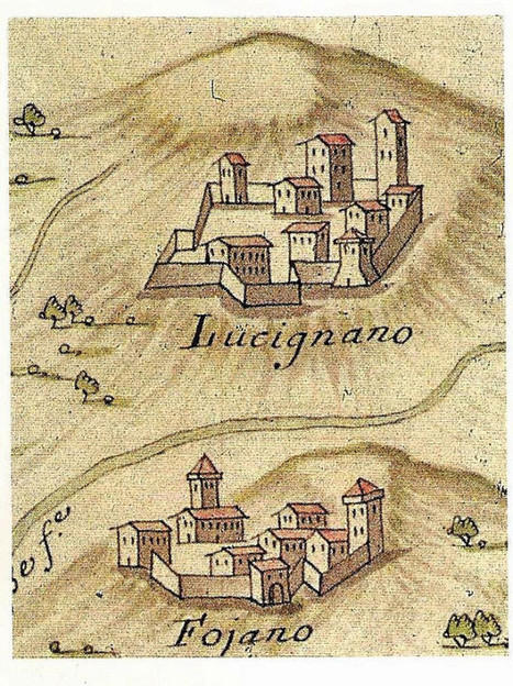 Antiche mappe di località toscane | mappe storiche | Scoop.it