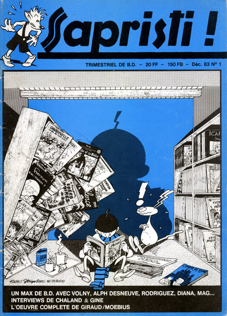 expo Sapristi & co : fanzines de bande dessinée en Normandie | NormandieBulle2011 | Rouen | Scoop.it