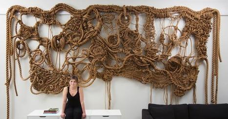 Susan Beallor-Snyder interview: Manila rope sculptures - TextileArtist.org | Art & Craft | Scoop.it