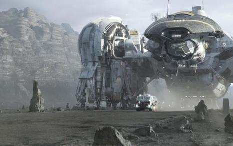 Prima e dopo gli effetti speciali: Prometheus di Ridley Scott [VIDEO] | WEBOLUTION! | Scoop.it