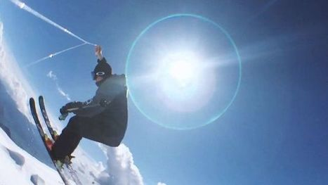 Swiss skier shoots 360 video using phone and string - CBBC Newsround | An odd mix of stuff | Scoop.it