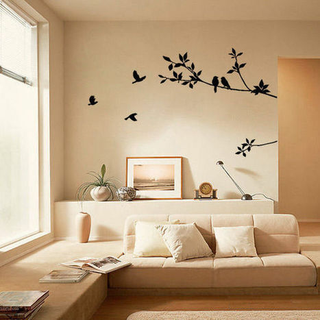 Bird Tree Leaf PVC Removable Room Vinyl Decal Art Wall Sticker Home Decor DIY   Home Decor   Scoop.it