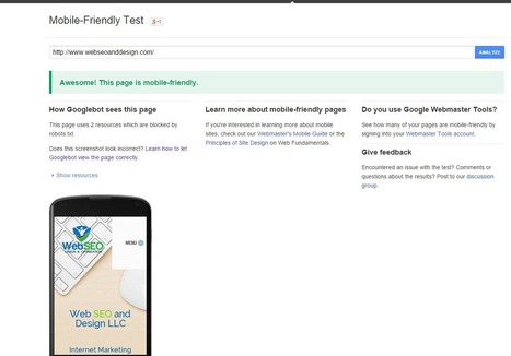 Make Site Google Mobile Friendly   What should you do online?   Scoop.it
