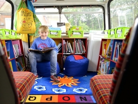 Inspirational school libraries from around the world – gallery | School libraries for information literacy and learning! | Scoop.it