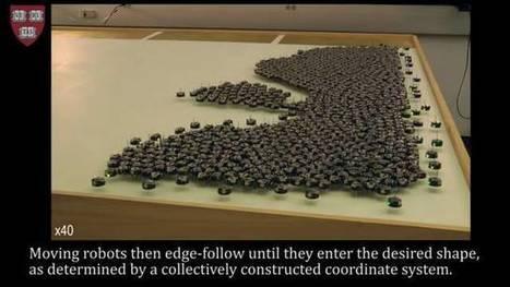 Logran que mil robots se coordinen solos para ejecutar tareas al unísono | LabTIC - Tecnología y Educación | Scoop.it
