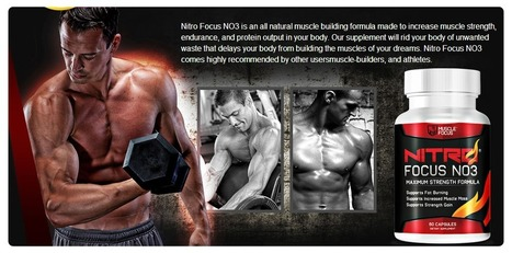 Healthy Way To Increase Your muscle Stamina with-nitro focus no3   Healthy Way To Increase Your muscle Stamina with-nitro focus no3   Scoop.it