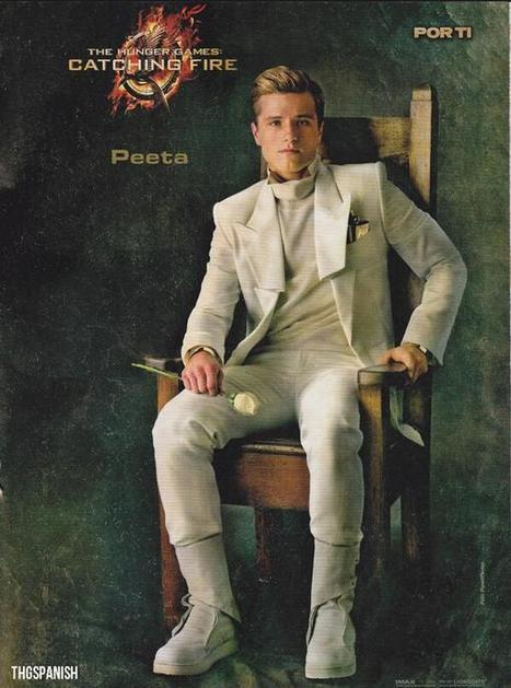 Twitter / THGSpanish: Póster de Peeta Mellark en ... | Revista POR TI | Scoop.it