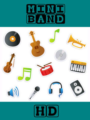 Mini Band HD(iPhone/iPad) Free download - APPVV | iPad apps for music | Scoop.it