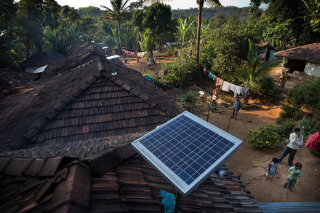 Electrifying India, With the Sun and Small Loans | The Innovation Economy | Scoop.it
