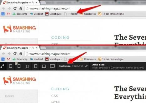 Quels outils pour pré-visualiser votre site responsive ?[ Usaddict: Ressources sur l'ergonomie des interfaces (le blog Usabilis)] | UX - Ergonomie | Scoop.it