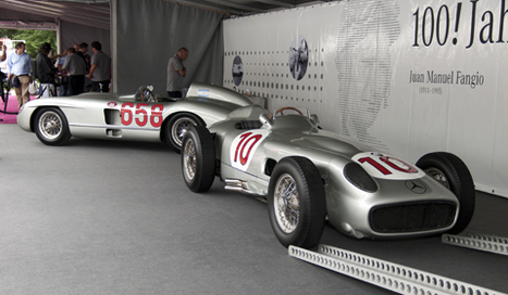 Schloss Dyck Classic Days 2011: Mercedes-Benz Silberpfeile | Historic cars and motorsports | Scoop.it