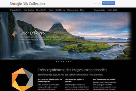 Google rend gratuite une formidable suite d'outils pour la photographie | Web2.0 et langues | Scoop.it
